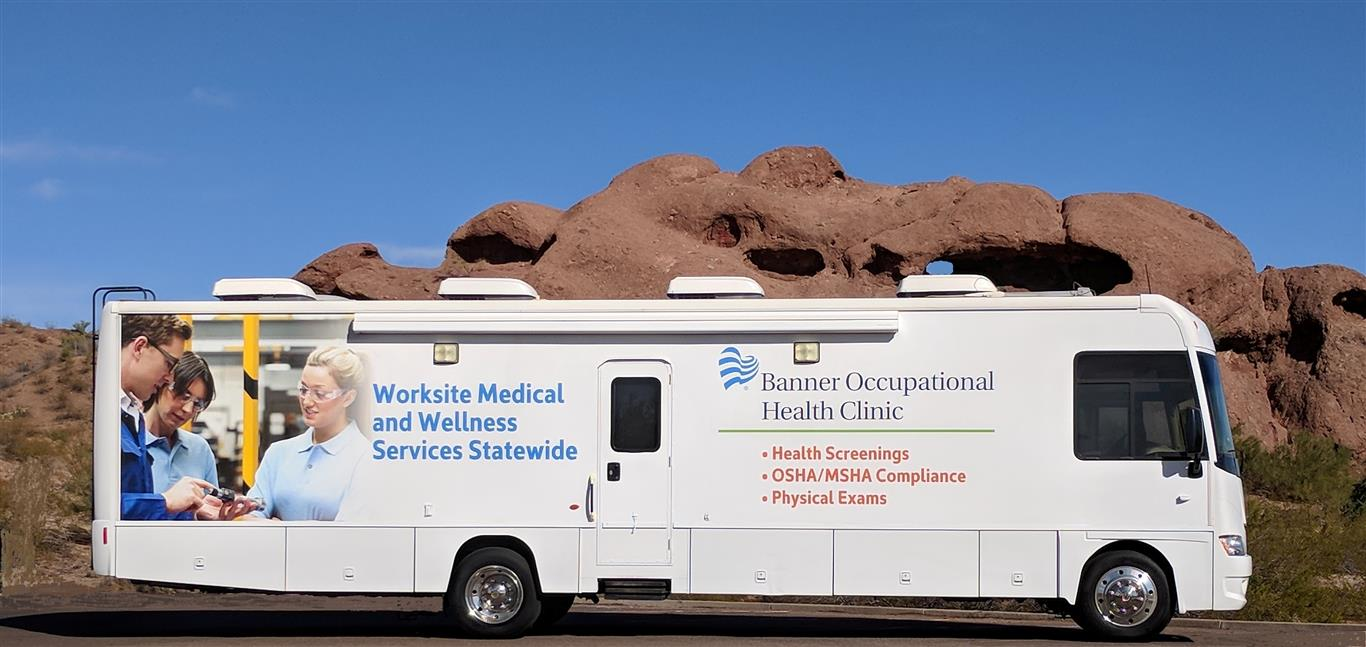 Occupational Health Testing Vehicle -Quality Vans