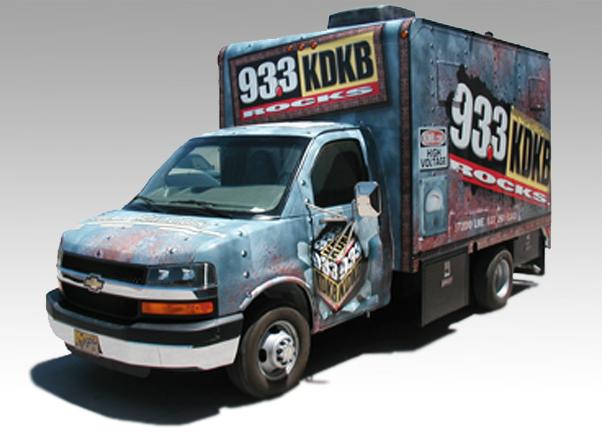 Radio Station & Broadcasting Promotion Van -Quality Vans