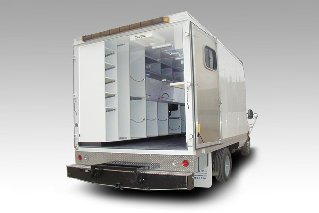 Utility Service Water Test Truck Quality Vans