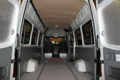 Sprinter Van Aftermarket Window Installation Quality Vans