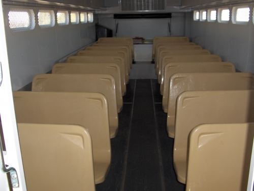 Blue Bird Prisoner Transport Bus Quality Vans Amp Specialty