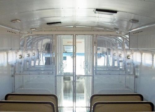 Blue Bird Prisoner Transport Bus -Quality Vans & Specialty