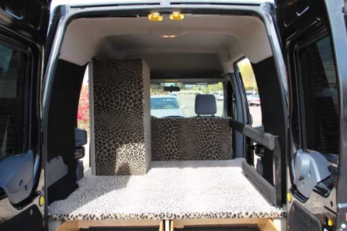 Mobile Interior Design Display Vehicle Quality Vans