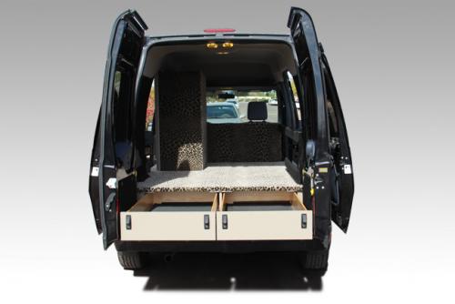 Mobile Interior Design Display Vehicle Quality Vans