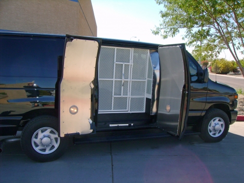 MCSO Prisoner Transport Van -Quality Vans & Specialty Vehicles